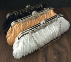 Fashion Hand-made Woven Lady Evening Bag Clutch Shoulder Bag Dual-use 26*13cm
