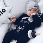 Внешний вид - Newborn Kids Baby Boy Girl Infant Romper Jumpsuit Bodysuit Cotton Clothes Outfit