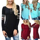 New Fashion Women's Ladies Casual Long Sleeve T Shirt Summer Loose Tops Blouse
