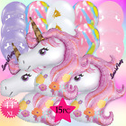 Внешний вид - XL PINK GIANT UNICORN PEGASUS BIRTHDAY ANIMAL BALLOON BALLOONS RAINBOW HORSE