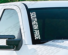 SOUTHERN PRIDE - Windshield Vinyl Vertical Decal Sticker Ford Jeep wrangler PS23