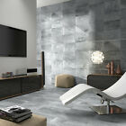 50x27 Matt Grey Stone Effect Ceramic Wall&Floor Tiles +Adhesive+Grout 23sqm
