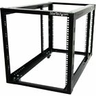 StarTech.com 12U 4 Post Server Equipment Open Frame Rack Cabinet w/ Adjustable P