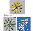 FLOWER - HANDMADE, CERAMIC MOSAIC TILES for your Project ( Pick you Group ) # 12