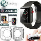 Apple Watch Series 5/4/3/2/1 40/44 Tempered Glass Screen Protector Soft TPU Case