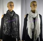New Style Chic Women's marbling-printed Long Scarf