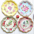 Wedding Vintage Printing Dinner Plates Wedding Party Down Disposable Paper Dish