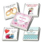 50 Personalised Christmas & Winter Theme Chocolate Favours