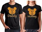 Mickey Daddy Minnie Mommy Funny HALLOWEEN Couple Matching Couple Cute T-Shirt