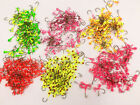 Lures Pro 50 PCs 1/32 1/16 oz 1/8 oz  Lead Jig Heads Fishing hooks Crappie
