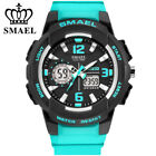 SMAEL LED Digital Watches Student Boy Fashion Sport Watch Girl Rubber Wristwatch image