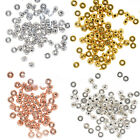 3mm 4mm 5mm 6mm 925 Sterling silver for jewelry making Rondelle beads