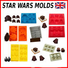 Star Wars Silicon Chocolate Baking Molds Cake Mold R2-D2 Darth Vader Han Solo £3.49 GBP