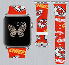 Kansas City Chiefs Apple Watch Band 38 40 42 44 mm IWatch PU Leather Strap 259 on eBay