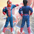 Spiderman Costume Cosplay Outfit Superhero Captain AmericaIron-Man Halloween Lot