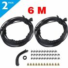 Lot 3~12m Outdoor Water Misting System Air Cooler Patio Mister Pool Deck Garde X
