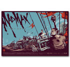 mad about fabrics - G-719 Hot New Mad Max Fury Road Mondo Movie Vintage Poster Wall Art Fabric Deco