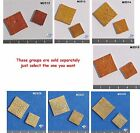 ELEMENTS _ DO _ DADS - HANDMADE, CERAMIC MOSAIC TILES ( Pick you Group) #1
