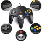 Classic Retro Wired Controller Joystick for 64-Bit N64 Ultra Game Console System