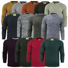 Kyпить Mens Knitted Crew Neck Jumpers Fishermans Rib Knit By Brave Soul на еВаy.соm