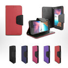 Folio Card Slot Photo Frame Holder Wallet Case For Boost Mobile ZTE MAX XL