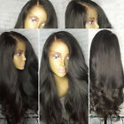 Glueless Silk Top Full Lace Front Wigs Virgin Human Hair Wigs With Baby Hairs