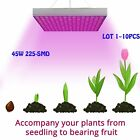 45w 225 LED Hydroponic Plant Grow Light Panel Indoor Growing Lamp Red + Blue YUN