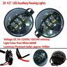 """4-1/2"""" LED Auxiliary Passing Lights Fit Harley  Heritage Springer Softail Humme"""