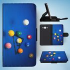 SNOOKER POOL TABLE BALLS 3 FLIP WALLET CASE COVER FOR SAMSUNG GALAXY J7(2016) $11.5 USD