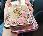 US Shockproof Bumper Silicone TPU Bling Clear Case Cover For iPhone 7 8 Plus