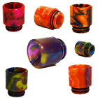 TFV8 TFV12  DRIP TIP RESIN COLOUR ACRYLIC MOUTH PIECE MULTICOLOURS
