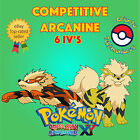 Pokémon ORAS / XY – COMPETITIVE ARCANINE 6IV's Shiny / No Shiny