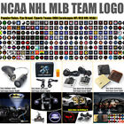NCAA MLB NHL Teams Logo Emblem Led Laser Car Ground Welcome Ghost Shadow Light