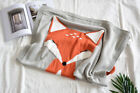 Baby Children Fox Blanket Infant Napping Towel Bedding Sleeping Throw Wrap Cover