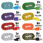 10ft Braided 30 Pin Usb Sync Data Cable Charger For  Iphone 4 4s 3gs  Lot