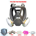 17 in 1 Paint Spray Silicone For 3M6800 Gas Mask Full Face Facepiece Respirator