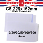 C5 229x162mm Plain (No Window) Self Seal Made from 88gsm Quality Paper Folded A4