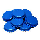 150x BLUE Crown Caps Capping 26mm Home Brew BOTTLING GLASS & PET -ᴓ26mm UK