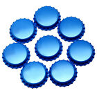 75 x BLUE Crown Caps Capping 26mm Home Brew BOTTLING GLASS & PET -ᴓ26mm UK