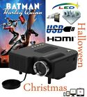 Mini LED Proyector 1080P HDMI VGA USB SD Multimedia Video Home Teatro Projector