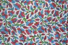 Cotton Voile Fabric Natural Crafting Hand Block Print fabric By the yard V-01
