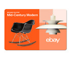 Because You Love Mid-Century Modern - eBay Digital Gift Card $15 to $200 <br/> US Only. May take 4 hours for verification to deliver.