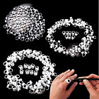 Tattoo Ink Cups Pigment Rings Makeup Glue Holder Permanent Microblading Eyelash