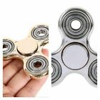 Tri Fidget Hand Spinner Triangle Brass Metal Colorful Finger Toy EDC Focus ADH