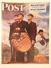 VTG Norman Rockwell Art Print Saturday Evening Post BASEBALL *** SEE VARIETY