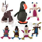 Animate Dog Puppy Toys with squeaker tough nylon & soft polyester many designs