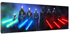 Star Wars Jedi Masters Panorama Canvas HD Art Fast Free Shipping, Vader Yoda