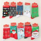 1 Pair Women Christmas Design Fashion Dress Socks Style Assorted Socks D073