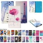 For Gionee X1s Card Slot Wallet Bag Flip Case Cover Smile Rose Nowknot Flowers