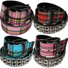 Tartan Belt - Sale Rockabilly Punk Rock Party Fancy Dress Disco Glam Indie